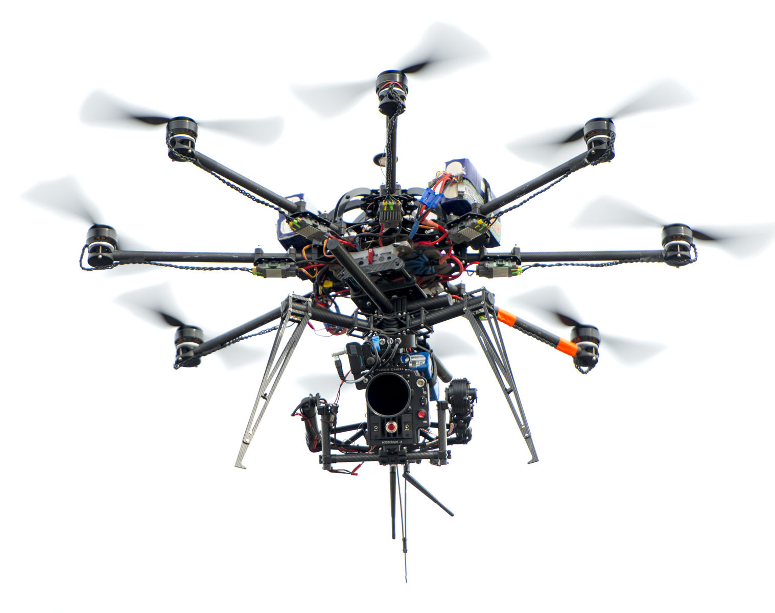 expensive and complicated drone